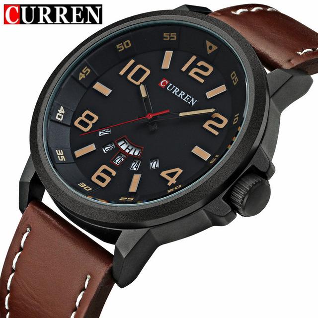 80fd4c14a511 ... Fashion Casual Quartz Watch Men Military Wrist Watch Male Relogio 8240.  -49%. 🔍. Jewelry   Watches