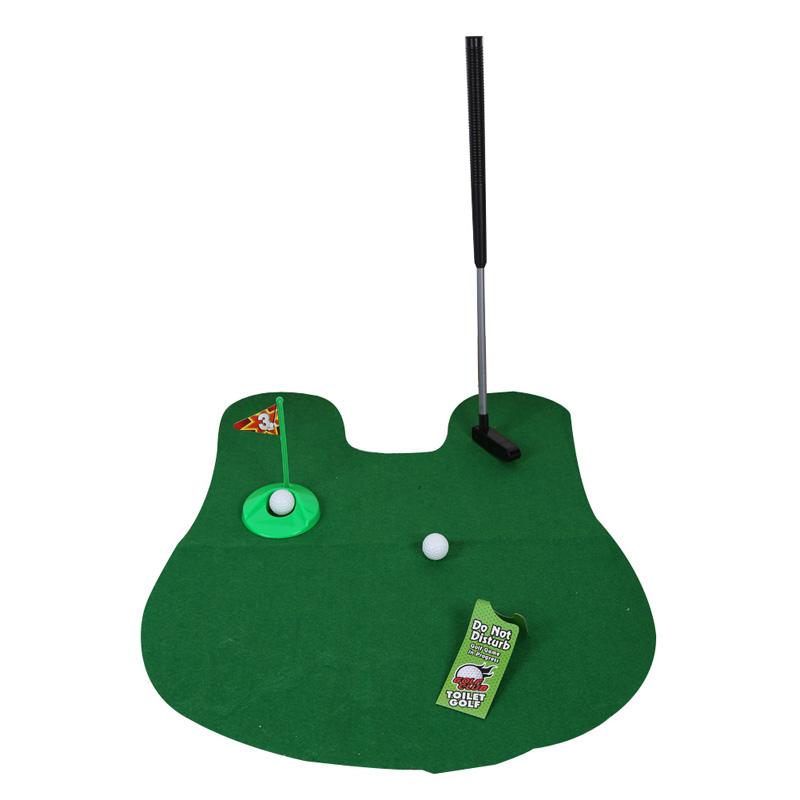 Potty Putter Toilet Mini Golf Set
