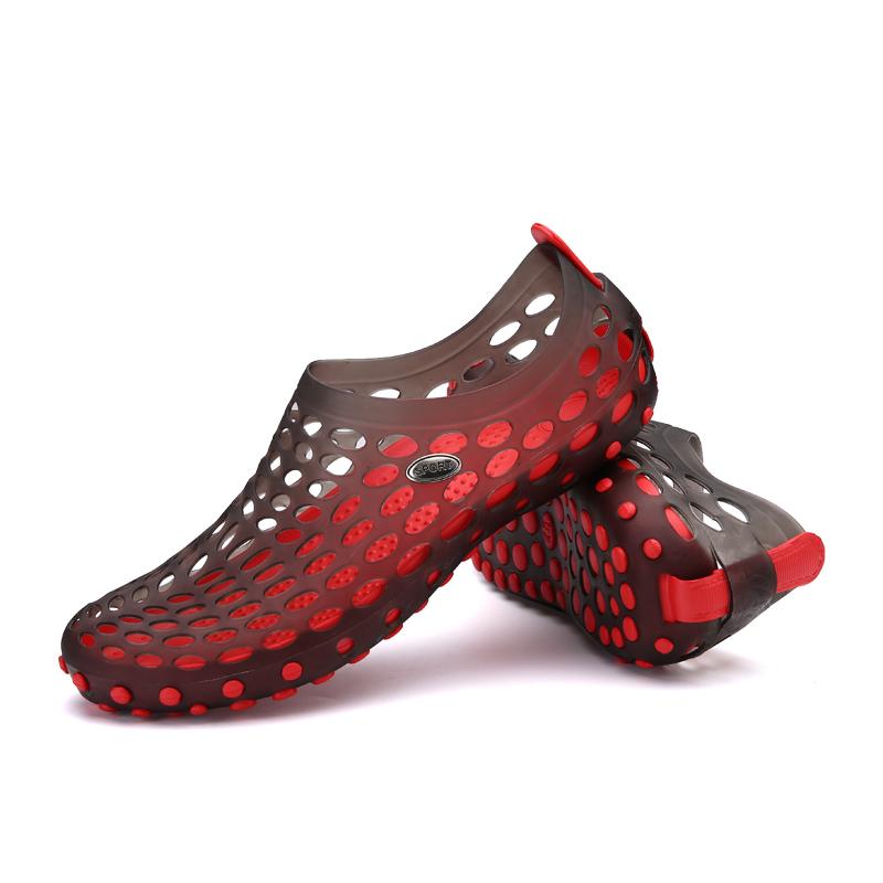 c90c4c012150 New Summer Sandals Men Mesh Shoes Mules Clogs Breathable Beach ...
