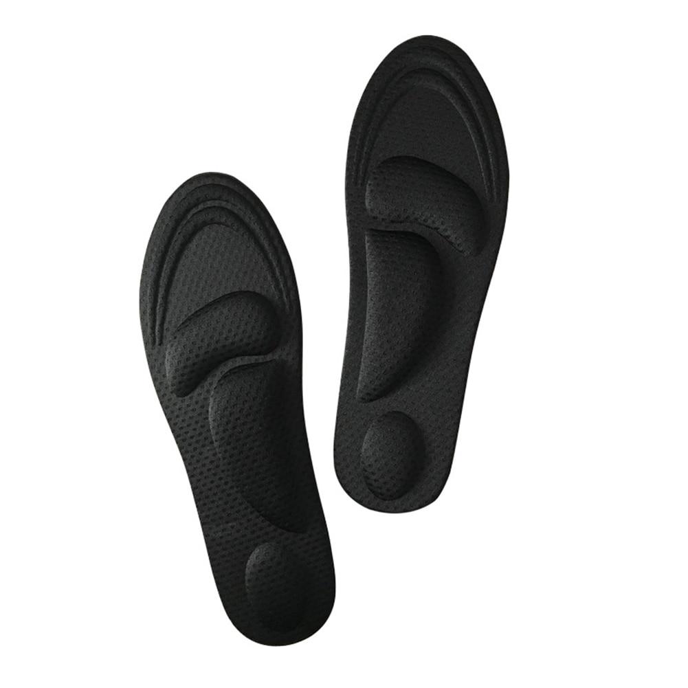 1Pair 4D Sponge Insoles Pain Relief Arch Support Cut Shoe Pad Soft Foot Care