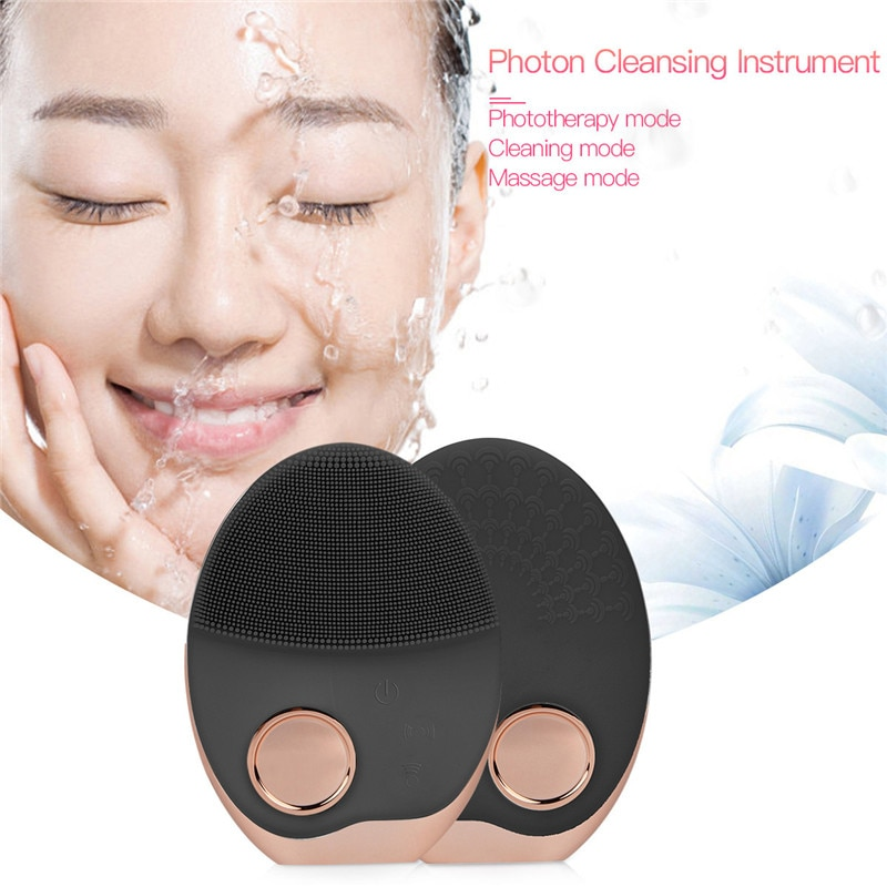 Electric Facial Cleansing Brush Wash Face Cleaning Machine Pore